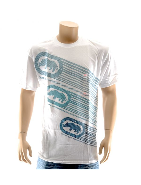 ECKO UNLTD T-SHIRT THREE THE HARD WAY SPRING 1