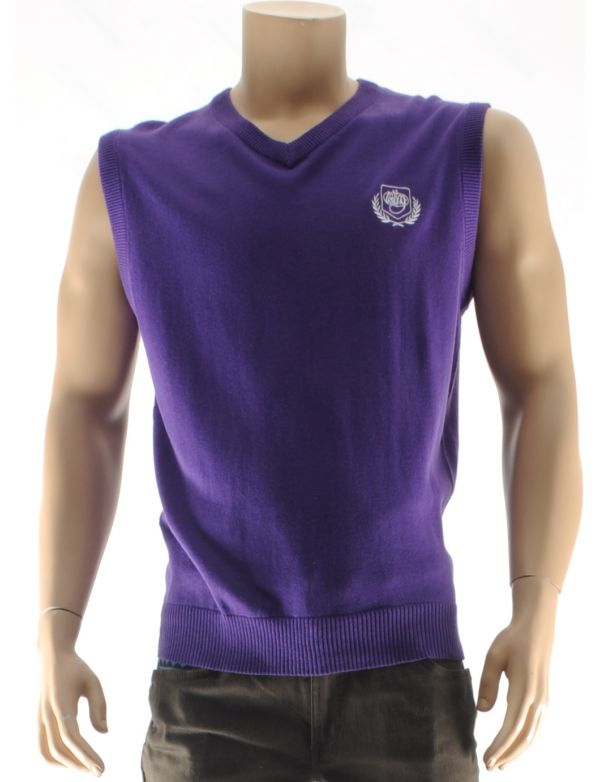 WRUNG BLAZE SLEEVELESS SWEATER