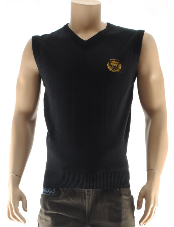 WUNG BLAZE SLEEVELESS SWEATER