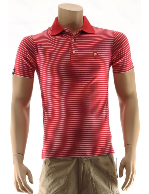WRUNG POLO LINE GING YARN DYED